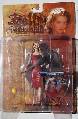 Btvs. Glory Action Figure. Signed By Clare Kramer. No. 230. Ltd Edition Of 500.