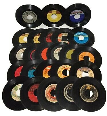 Lot of 24 Records 45rpm Stevie Wonder Eddie Money Lionel Richie Dr Hook Bundle