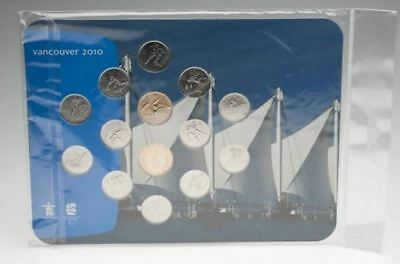 Canada Vancouver 2010 Olympic Games Mint Set With Official Olympic Logo & Seal