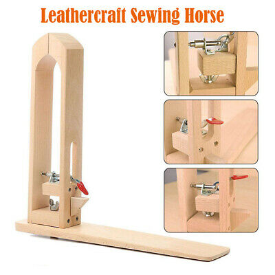New Leathercraft Lacing Pony Sewing Horse Vice Clamp for Stitching Leather Tool