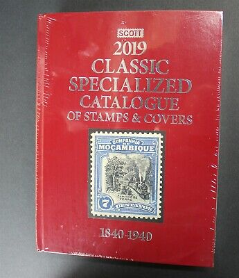 CKStamps: 2019 Scott Classic Specialized Catalogue Of Stamps & Covers 1840-1940