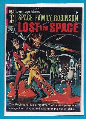 Space Family Robinson_Lost In Space #16_April 1966_Vf+_Silver Age Gold Key!