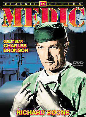 BRAND NEW DVD Medic: Classic TV Series RICHARD BOONE CHARLES BRONSON
