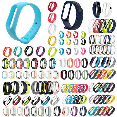 For Xiaomi Mi Band 2 3 4 Replacement Sports Wrist Band Belt Strap Smart Watches
