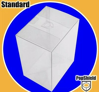 """5 PACK FUNKO POP! Shield! BOX PROTECTOR BOXES 4"""" VINYL FIGURE CRYSTAL CLEAR New"""