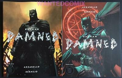 Batman Damned 1 & 2 Uncensored Variant Cover Set Both First Prints Comic Lot New