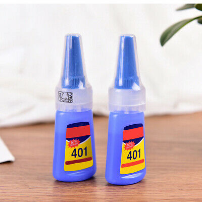 1X Loctite 401 Super Glue Instant Adhesive 20G Metal Rubber Ceramic Leather Chy