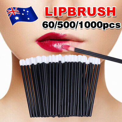 100/500/1000pcs Disposable Lip Brush Lip Wands Gloss Lipstick Applicator Brushes
