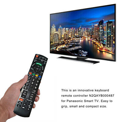 Remote Control Controller Replaces For Panasonic Smart TV N2QAYB000487 Useful