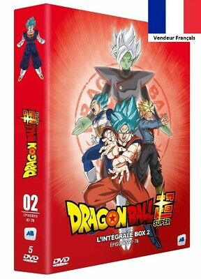 DVD Dragon Ball Super l'Integral Box 2 Episodes 47-76 Série d'Animation TOEI VF