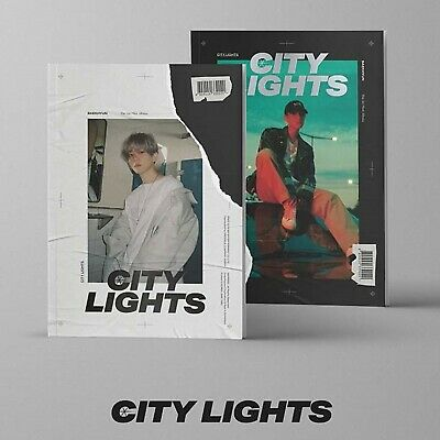 EXO Baekhyun [City Lights]1st Mini 2 SET CD+2p Poster+PhotoBook+Lyric+Card+Gift