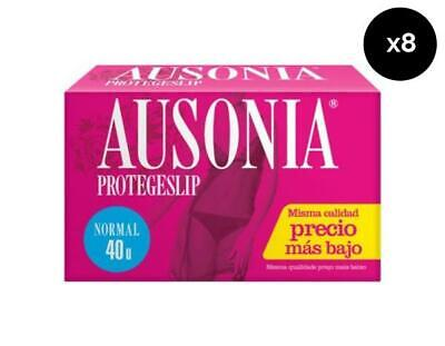 Ausonia Protege Slips Lingerie normal - Pack de 8 x 40 ud Total: 320 ud