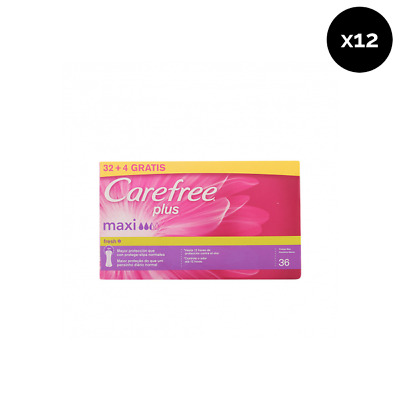 Carefree Protege Slips Plus Maxi Transpirable - Pack de 12 x 36 ud Total: 432 ud