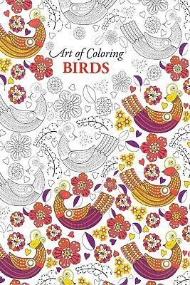 Adult Colouring Book Of Birds To Help Reduced Stress & Anxiety, Mind Relaxing