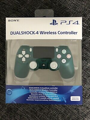 Genuine Official Sony PS4 Dualshock 4 Wireless Controller Pad - Alpine Green