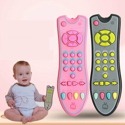 Baby Remote Control Toy Learning Lights Remote for Baby Click Remote Toys XW