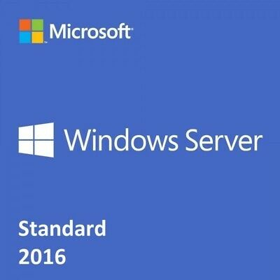 Windows Server 2016 Standard 64Bit Genuine License Key with Download 1s Delivery