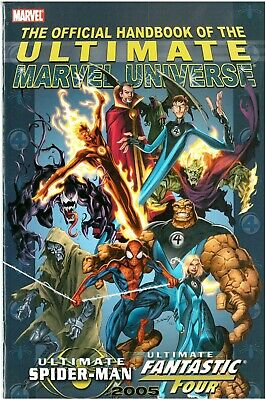 Official Handbook to the Ultimate Marvel Universe Spider-man Fantastic Four 2005