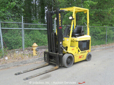 2006 Hyster E50Z-33 5K Electric Industrial Warehouse Forklift Lift Truck bidadoo