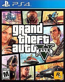 (CASE AND INSERTS ONLY) (NO GAME ) (PS4) Grand Theft Auto V