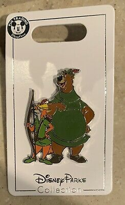 Disney Parks Trading Pin Robin Hood and Little John NEW 2019