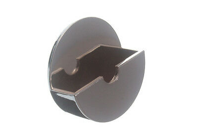 Lot Of 1 X Plug Holder Bath Sink Basin Self Adhesive Chrome
