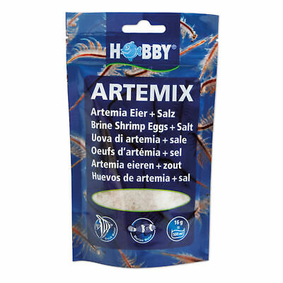 Hobby Artemix Eggs + Salts 195g for 6 L - Finished Blend Artemia Eggs Nauplii