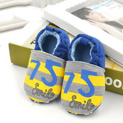 Infant Baby Shoes Cotton Soft Boy Comfy Sole Newborn Toddler To12 Girl Unisex