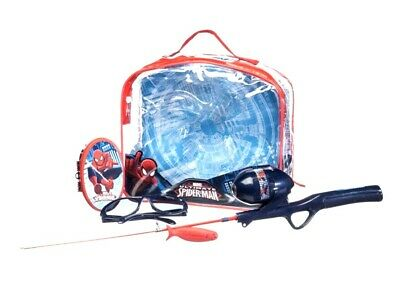 Marvel Ultimate Spider-Man Backpack Fishing KitAges 4 Years Shakespeare