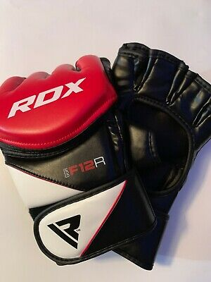RDX MMA Grappling Gloves Boxing Muay Thai Punching Cage Fighting Sparring X6 US