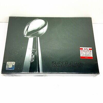 NFL The Ultimate Super Bowl Collection I-XLVI DVD 23-Disc Set Cowboys Steelers