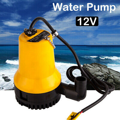 DC 12V 50W Submersible Water Pump Clean Clear Dirty Pool Pond Flood New