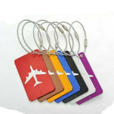 Taggy Luggage Tag Travel Suitcase Bag Id Tags Address Label Card Holder