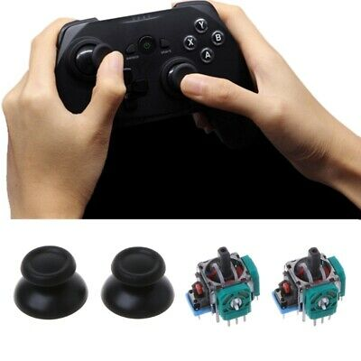 2 Pcs Joystick Axis Analog Sensor Module Thumbstick For PS4 Pro Slim Controller