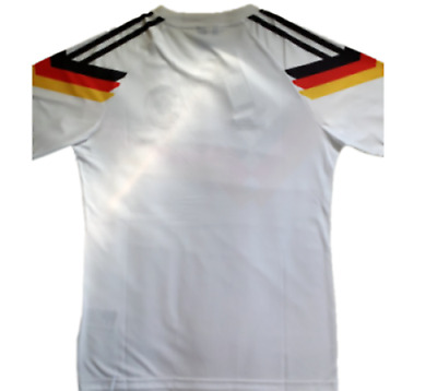 West Germany  Retro Shirt Home 1990 World Cup Classic Vintage Sizes S M L XL