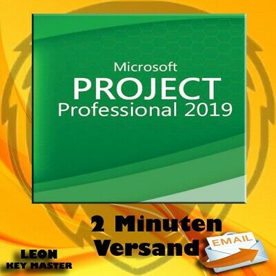 ✔ MS Project 2019 Professional ✔ 32&64 bits ✔ ESD  ✔ VOLLVERSION ✔ 24/7 SUPPORT