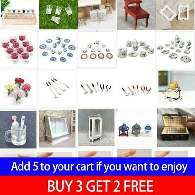 1:12 Dolls House Miniature Food Wine Cup Bottle Cake Scale Furniture Accessory