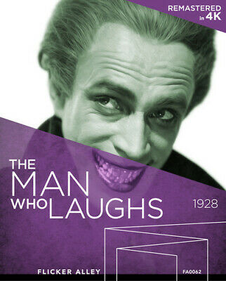 Man Who Laughs - 2 DISC SET (REGION A Blu-ray New)