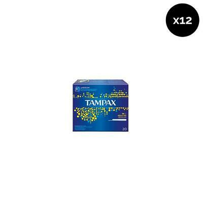 Tampax Tampones Regular - Pack de 12 x 20 ud Total: 240 ud