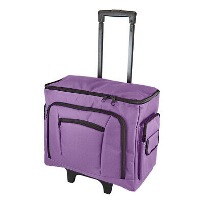 Purple Sewing Machine Trolley Bag 47 x 38 x 24cm | Birch 006105/P