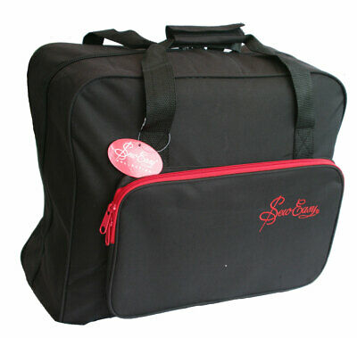 Sewing Machine Bag with Red Trim | Sew Easy MR4660.PLBK.2