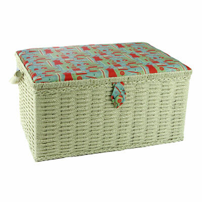 Notions Large Sewing Basket Multi 38 x 25 x 20cm | Sewing Online FL-008