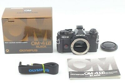 【Almost UNUSED】 Olympus OM 4Ti 35mm SLR Film Camera Black Body Only from Japan