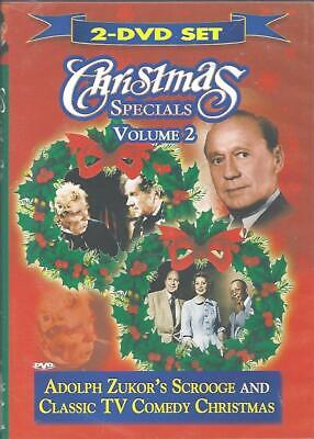 Dvd: 2-Disc Christmas Specials Volume 2 Scrooge & Classic Tv Comedy.....new