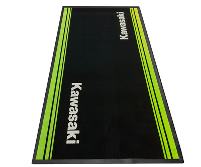Kawasaki Pit Garage Mat  201May0004