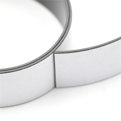 30*1.5Mm 1 Meter Self Adhesive Flexible Magnetic Strip Rubber Magnet Tape DS
