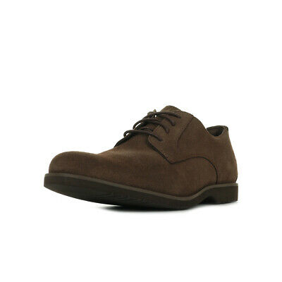 Timberland Basses Woodhull Taille Chaussures Leather Oxford Ville Homme Marron fIYgby76v