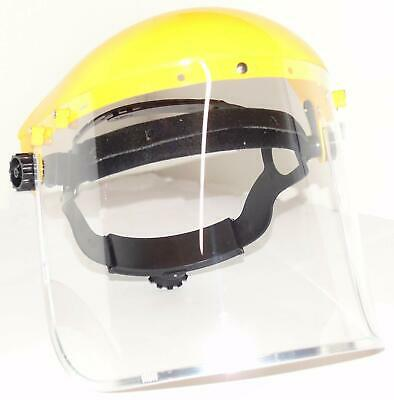 ESENO Industrial Clear Safety Face Shield and Wide Visor