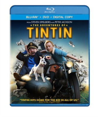 `BELL,JAMIE`-ADVENTURES OF TINTIN (2 DISCS/BR/DVD/DC/UV/) Blu-Ray NEW