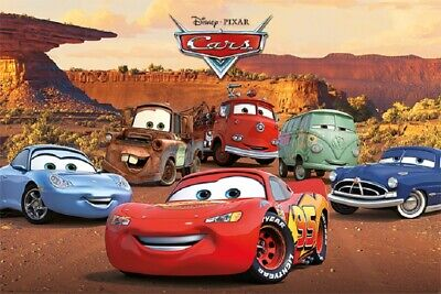 CARS MOVIE POSTER, USA Version, (Size 24 x 36)